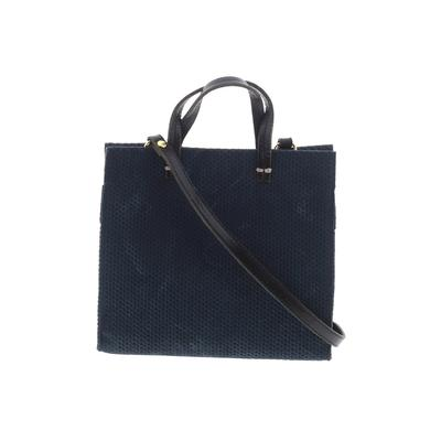 Clare V. Satchel: Blue Solid Bags