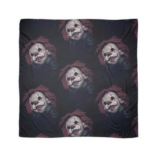 Gruseliger Clown, Clown, Killer Clown, Horror Clown, gruselige Puppe Tuch