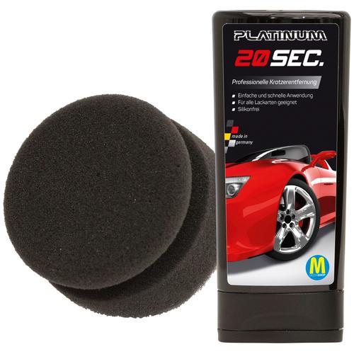 Platinum Autopolitur 20 sec, 100 ml, inkl. Schwamm schwarz Autopflege Autozubehör Reifen
