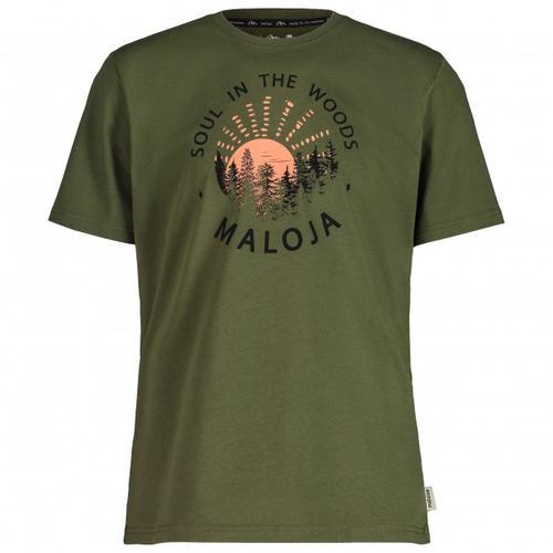 Maloja - HeckenkirscheM. - T-Shirt Gr XS oliv