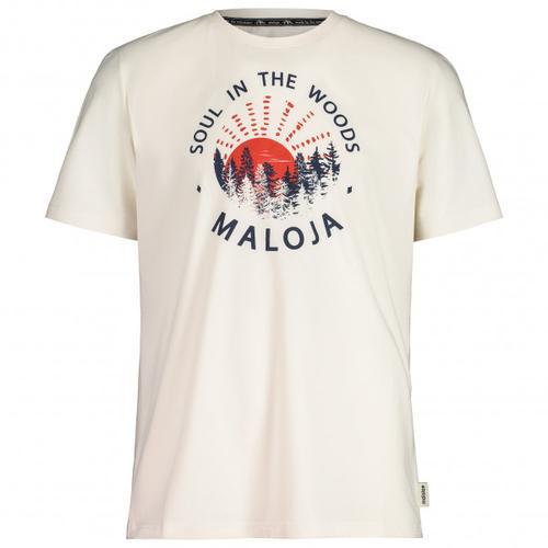 Maloja - HeckenkirscheM. - T-Shirt Gr M weiß