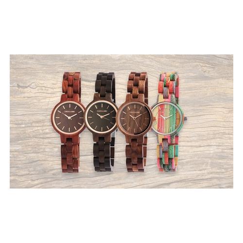 Excellanc Holz Armbanduhr: 1/ Walnussholz
