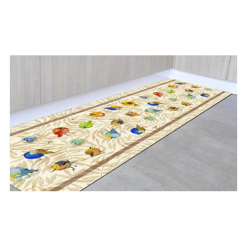 Läufer-Teppich: Pflanzen/ 50 x 350 cm
