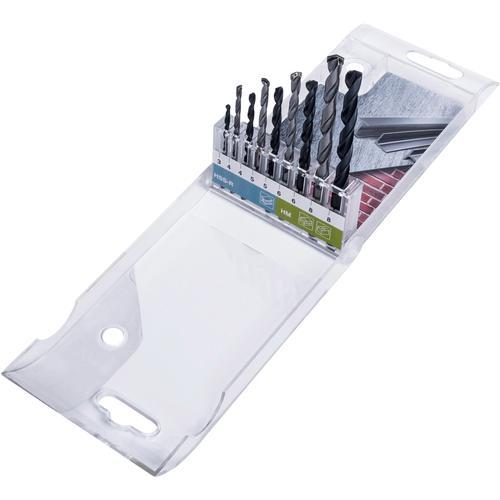 Connex Bohrersatz, (Set, 9 tlg.) silberfarben Zubehör Werkzeug Maschinen Bohrersatz