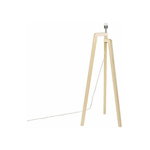 Stehleuchte Stativholz ohne Schirm - Puros