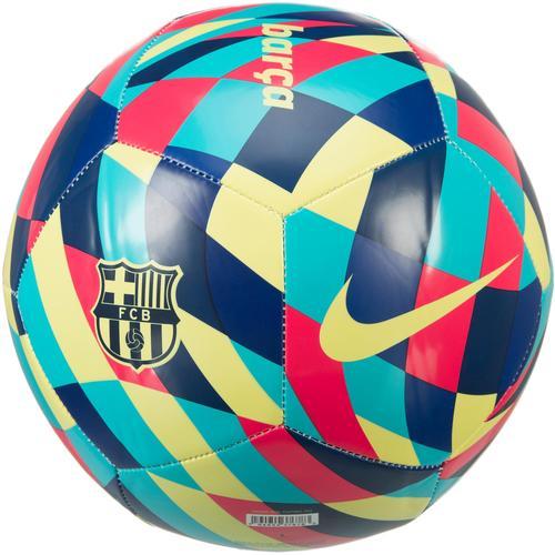 Nike FC Barcelona Fußball in limelight-multi-color-limelight, Größe 5