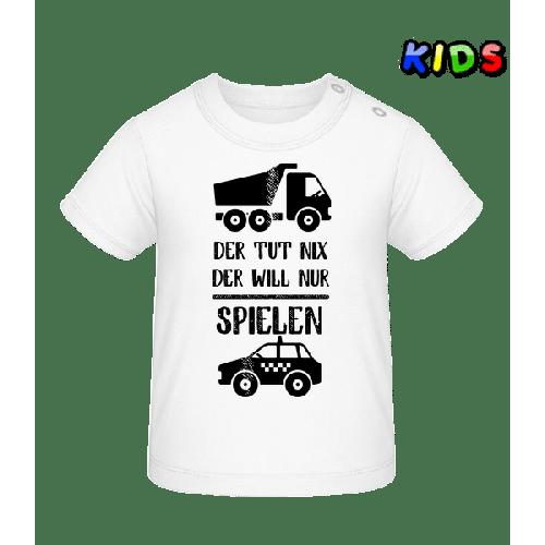 Der Tut Nix Nur Spielen - Baby T-Shirt