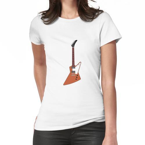 Natural Explorer Gitarren-Cartoon Frauen T-Shirt