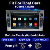 Autoradio DSP Android, DTS, stér...