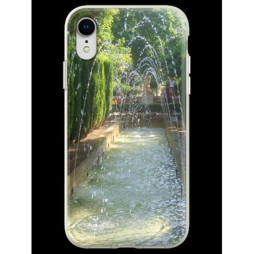Brunnen - Wasserspiele Fernweh Flexible Hülle für iPhone XR