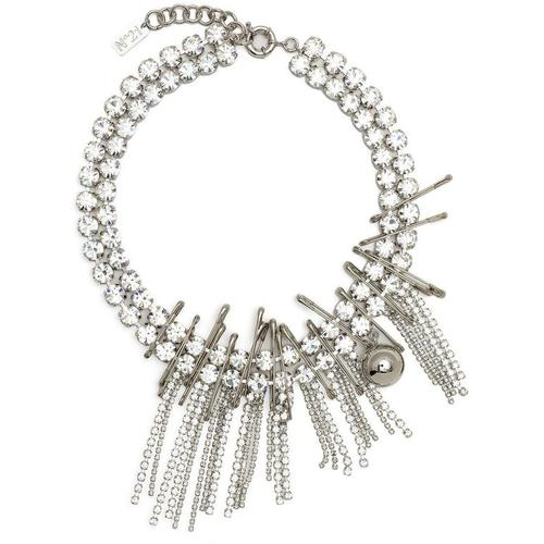 N°21 Halskette mit Kristallanhänger