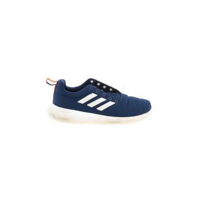 Adidas Sneakers: Blue Solid Shoe...