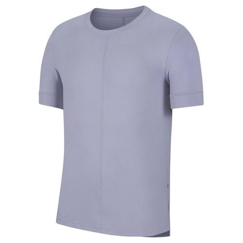 """Nike Herren Yoga T-Shirt """"Nike Yoga Dri-Fit"""", lila, Gr. L"""