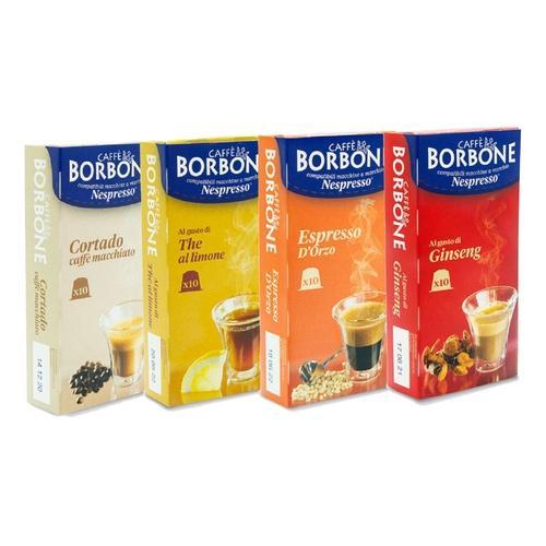 Caffè Borbone: Kaffeekapseln mit Ginseng-Geschmack / 120 Kapseln