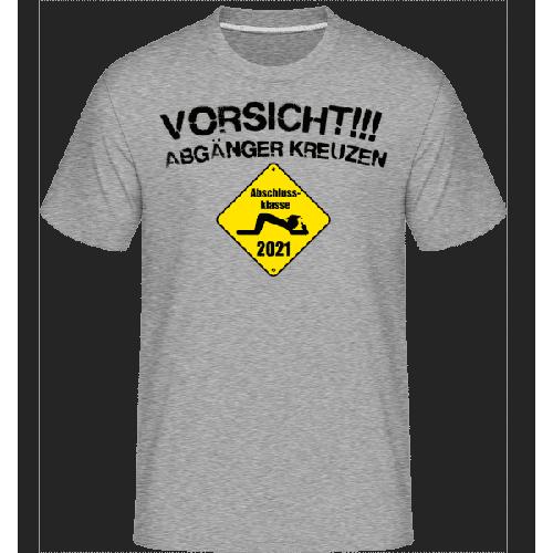 Vorsicht Abgaenger Kreuzen - Shirtinator Männer T-Shirt