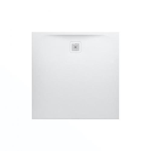 Laufen Pro Rechteck-Duschwanne L: 100 B: 100 H: 3,3 cm weiß matt H2119520000001