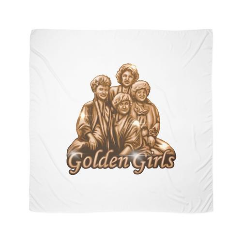 Goldene goldene Mädchen Tuch