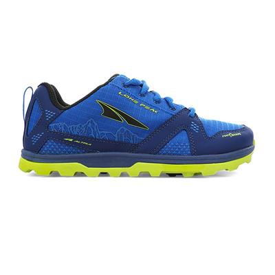 Altra | Youth Lone Peak Running Shoes | Blue | Size: 2