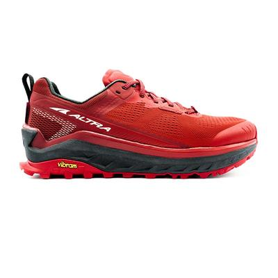 Altra - Altra | Olympus 4 Trail Running Shoes | Red | Men's | Size: 11.5