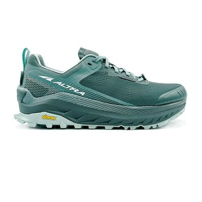 Altra | Olympus 4 Trail Running Shoes | Balsam Green | Women's | Size: 10