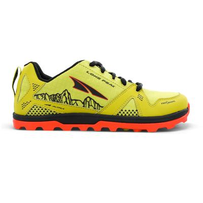 Altra | Youth Lone Peak Running Shoes | Green | Size: 4