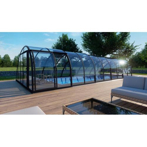 Schwimmhalle SkyCover® Vision Clear 4.5x8.5m