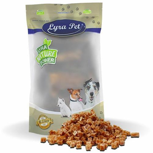 10 kg ® Hühnerfleischwürfel mit Fisch - Lyra Pet