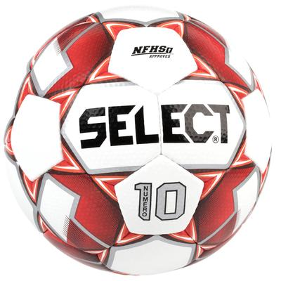 Select Numero 10 Soccer Ball White/Red