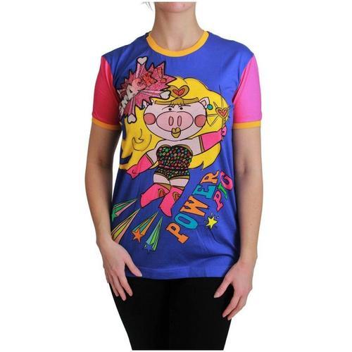 Dolce & Gabbana PIG Supergirl T-Shirt