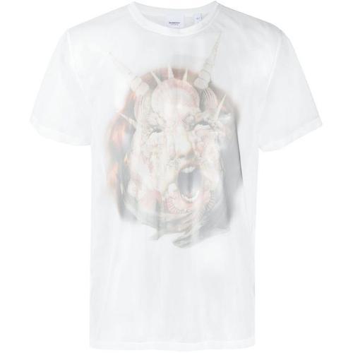 Burberry T-Shirt mit Foto-Print