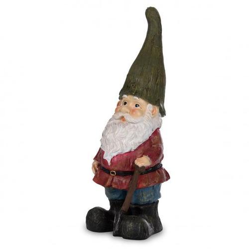 Gartenzwerg Peter mit grüner Mütze