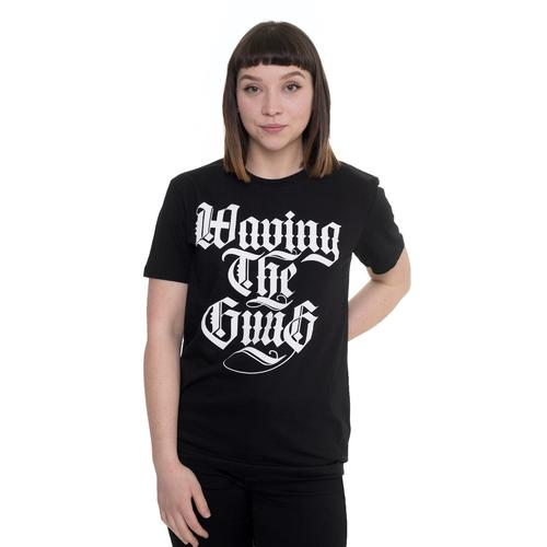 Waving The Guns - Kalligraphie - - T-Shirts
