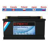 Pack de Batteries LiFePO4 12V, 1...
