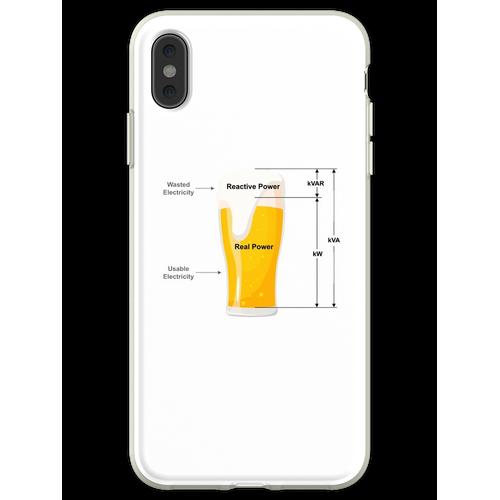 Bier Strom Strom Flexible Hülle für iPhone XS Max