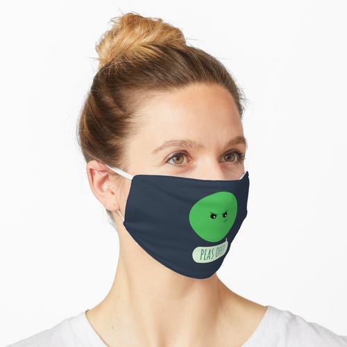 Erbsen ab! Maske