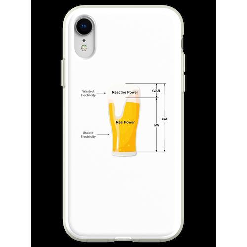 Bier Strom Strom Flexible Hülle für iPhone XR
