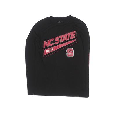 Adidas Active T-Shirt: Black Solid Sporting & Activewear - Size Medium