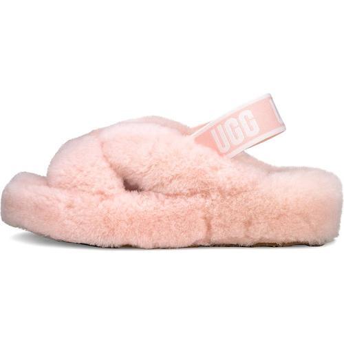 UGG, Hausschuh Fab Yeah in rosa, Hausschuhe für Damen Gr. 39
