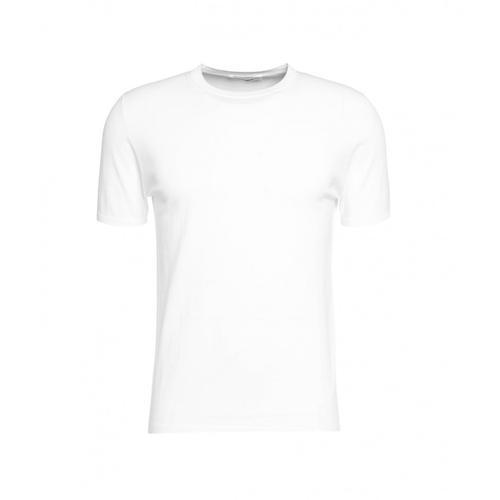 Kangra Herren T-Shirt mit Rundkragen Weiß