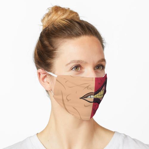 Glücksspielmann (rot) Maske