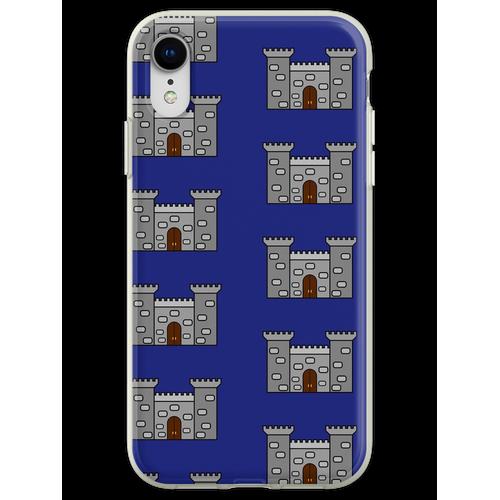 Einfaches Schloss Flexible Hülle für iPhone XR