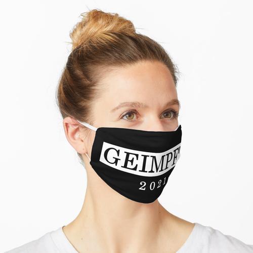 Geimpft - Impfung - Statement 2021- #impfdichauch Maske