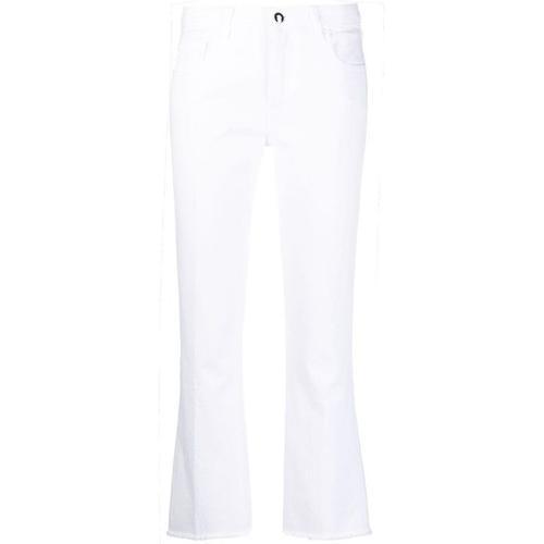 Fay Halbhohe Bootcut-Jeans