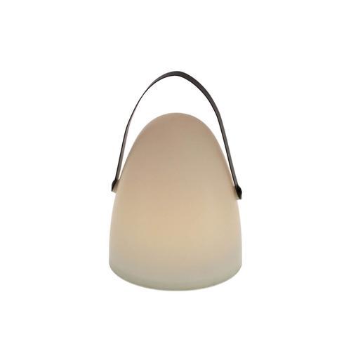 VOSS Design »Bulb« Laterne mit Timer 21x30 cm