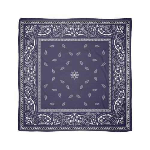Bandana Bleu, Royal Bleu Bandana Design Tuch