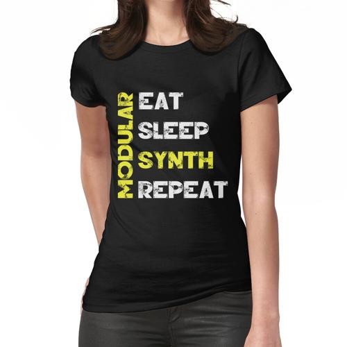 Modular Synth - Eat Sleep Modular Synth Repeat Frauen T-Shirt