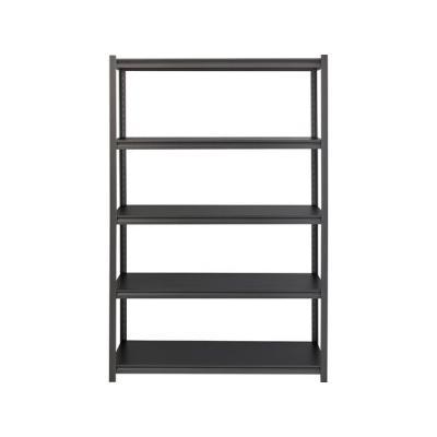 """Lorell Shelving, 5-Shelf, Steel, 3200 Lb Cap, 48X24X72, Black (Llr59703)"""