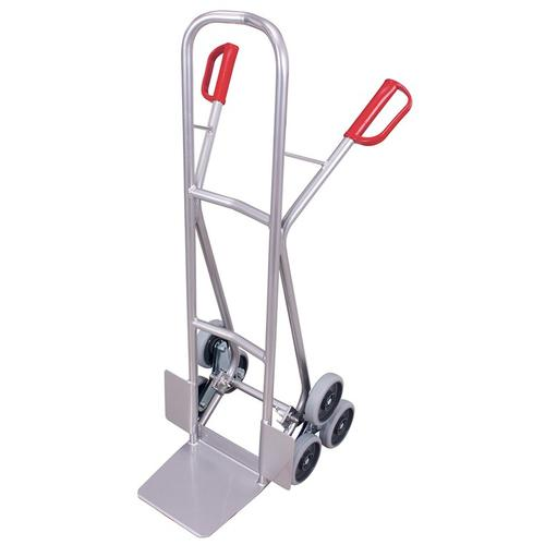 Aluminium Treppenkarre 2 dreiarmige Radsterne Alukarre Klappwagen Treppensteiger
