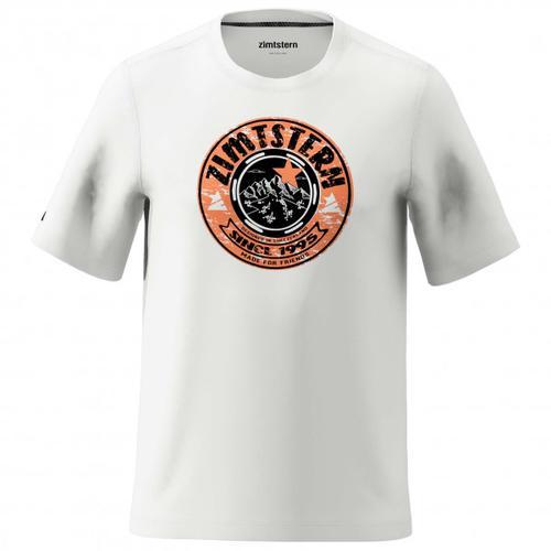 Zimtstern - Bullz Tee - T-Shirt Gr S grau/weiß