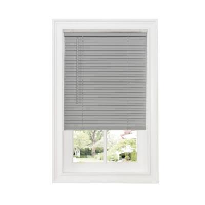 "Wide Width Cordless GII Deluxe Sundown 1"" Room Darkening Mini Blind by Achim Home Dcor in Grey (Size 34"" W 64"" L)"